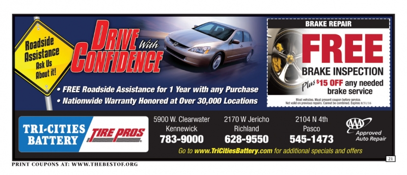 Tri-Cities Battery Inc. Tire & Wheel Center
