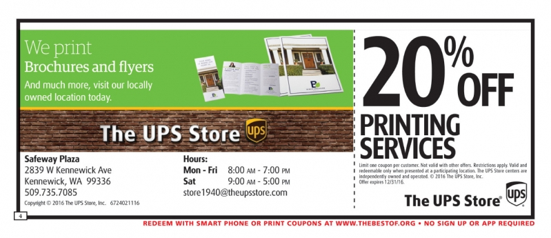 The UPS Store - Kennewick
