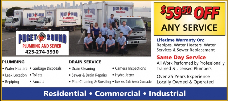Puget Sound Plumbing and Sewer