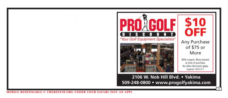 Pro golf discount coupons