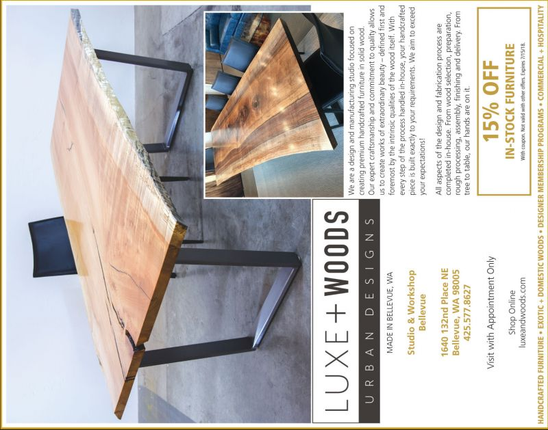 Luxe + Wood Urban Designs