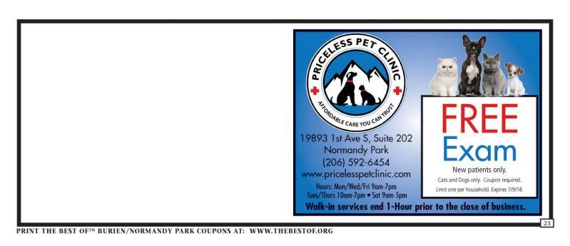 Burien Amp Normandy Park Coupons The Best Of Publications