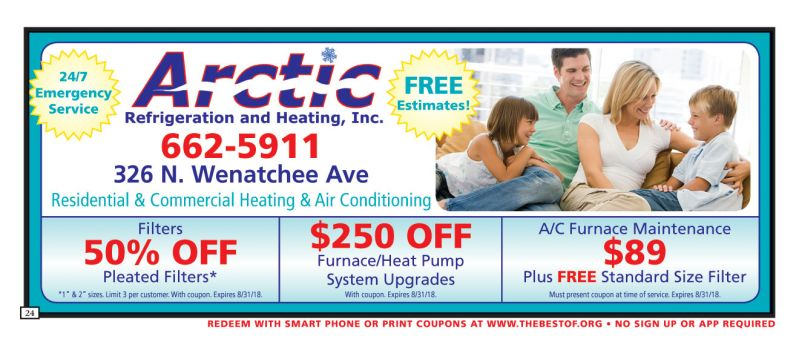 Arctic Refigeration and Heating, Inc.