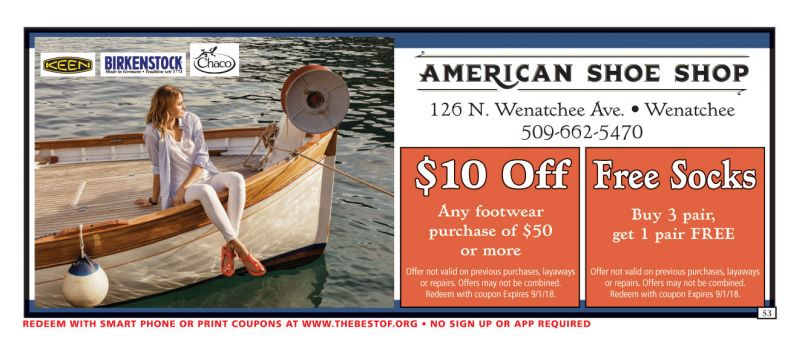 Wenatchee Coupons The Best Of Publications