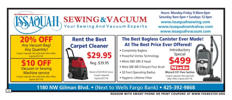 Issaquah Sewing & Vacuum