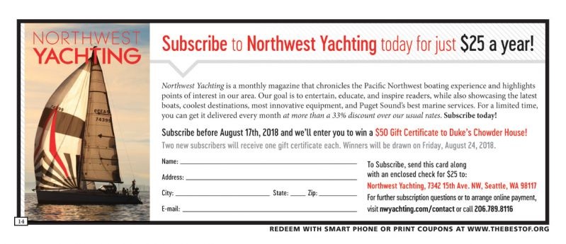 Northwest Yachting