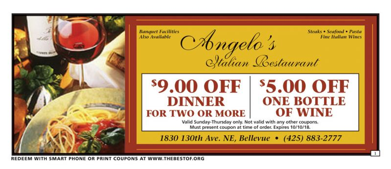Angelos Coupons