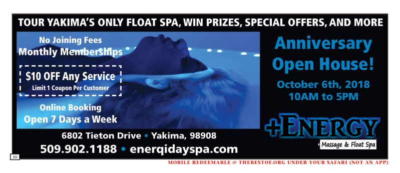 +Energy, Massage & Float Spa
