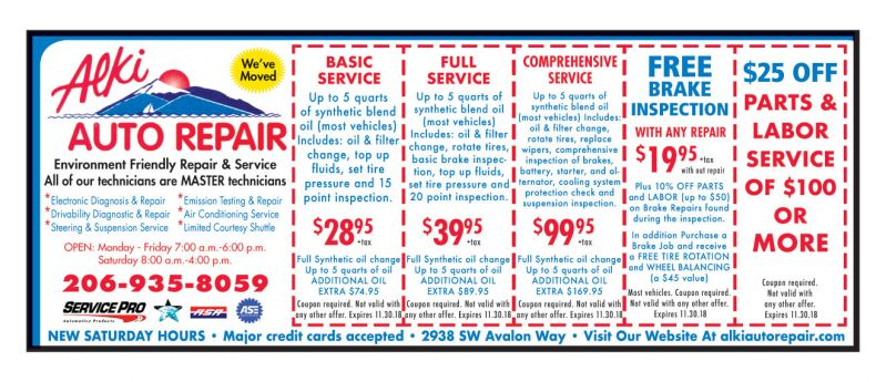 Alki Amp West Seattle Coupons The Best Of Publications