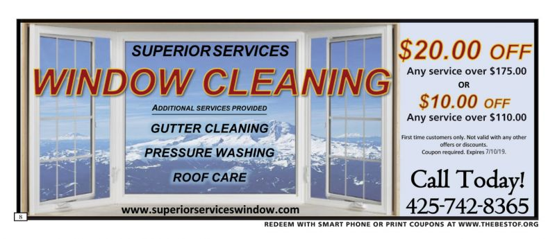 Superior Services Window & Gutter Cleaning